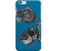 fish are friends, not food iPhone Case/Skin