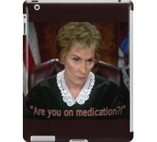 Are you on MedicAtion? iPad Case/Skin