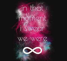 i swear, we were infinite Unisex T-Shirt