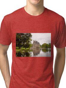 Chateau de La Bretesche  Missillac Tri-blend T-Shirt