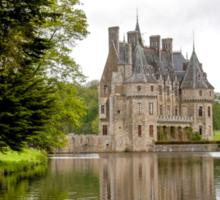 Chateau de La Bretesche  Missillac Sticker