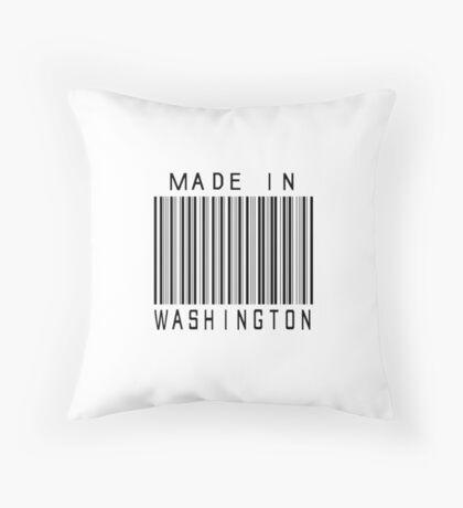 Made in Washington Throw Pillow