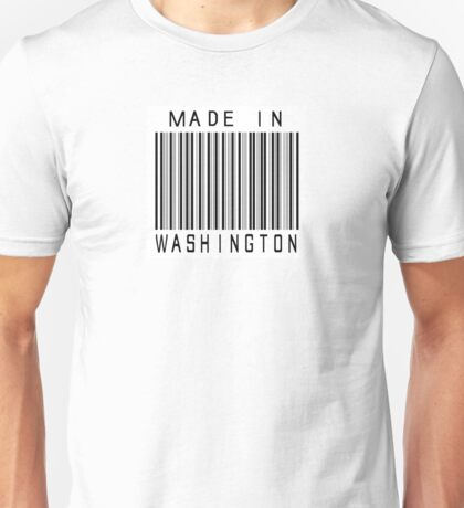 Made in Washington Unisex T-Shirt