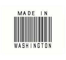 Made in Washington Art Print