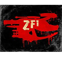 ZF1 Red Photographic Print