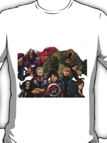 One Piece Avengers T-Shirt