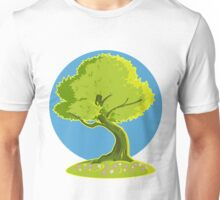 green tree Unisex T-Shirt