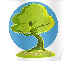 green tree Poster