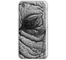 elephant sleeping eye iPhone Case/Skin