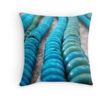 beads Throw Pillow