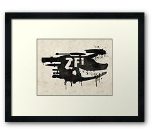ZF1 Black Framed Print