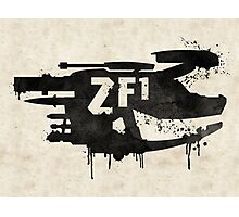ZF1 Black Photographic Print