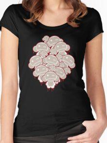 Zombie, Zombie, Zombie Monkeys! Women's Fitted Scoop T-Shirt