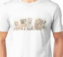 Shar Pei Puppies Unisex T-Shirt