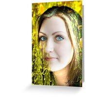 Stunning Eyes Greeting Card