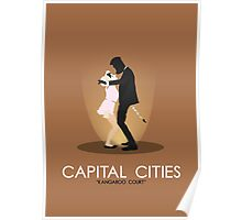 Tait Design | Capital Cities Poster