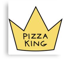 Pizza King Canvas Print