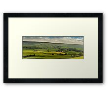 Swaledale In The Yorkshire Dales Framed Print