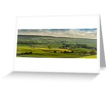 Swaledale In The Yorkshire Dales Greeting Card