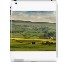 Swaledale In The Yorkshire Dales iPad Case/Skin