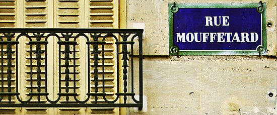 Rue Mouffetard by Andy Duffus