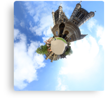 Lincoln Cathedral Photosphere Canvas Print