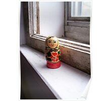 dolly on the sill. Poster