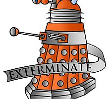 Dalek - Scientist by MikeTheGinger94