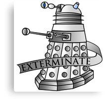 Dalek - Supreme Canvas Print