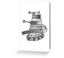 Dalek - Supreme Greeting Card