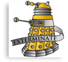 Dalek - Eternal Canvas Print