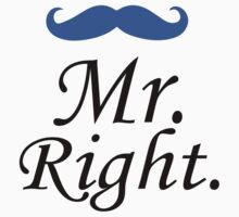 Mr. Right - Mrs. Always Right Couples Design by LegendTLab