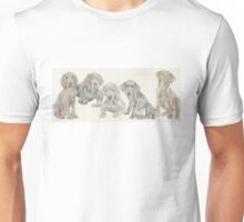 Weimaraner Puppies Unisex T-Shirt