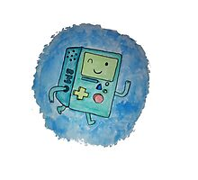 BMO - hand drawn Photographic Print