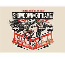 Batman v Superman  Photographic Print
