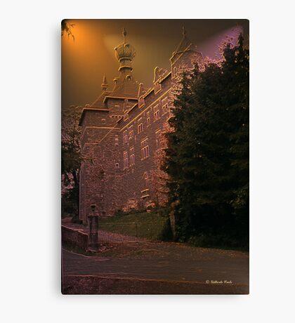 Château de Chimay - Belgium - façade arrière Canvas Print