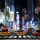 Times Square Neon by Fojo