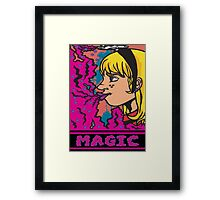 Holiday Magic, Cloud of Imagination ! Framed Print