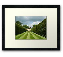 Italian Garden Hever Castle Framed Print