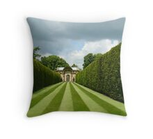 Italian Garden Hever Castle Throw Pillow