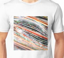 mapping the abstract Unisex T-Shirt