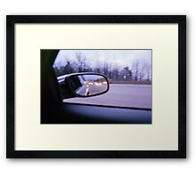 Early Morning Drives Framed Print