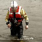 Crew ashore by Loch Ness Lifeboat Crew