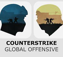 Counter Strike Global Offensive by Sheryl Kam