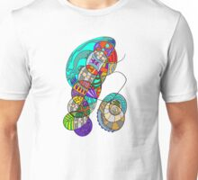 Abstract Curves A101 Unisex T-Shirt