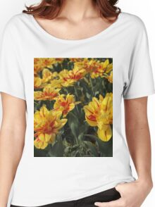 tulips flowers Women's Relaxed Fit T-Shirt