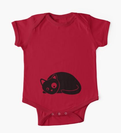Black Cat Kids Clothes