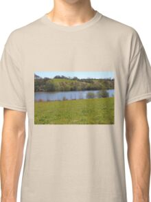 Spring Meadow Near The lake Classic T-Shirt