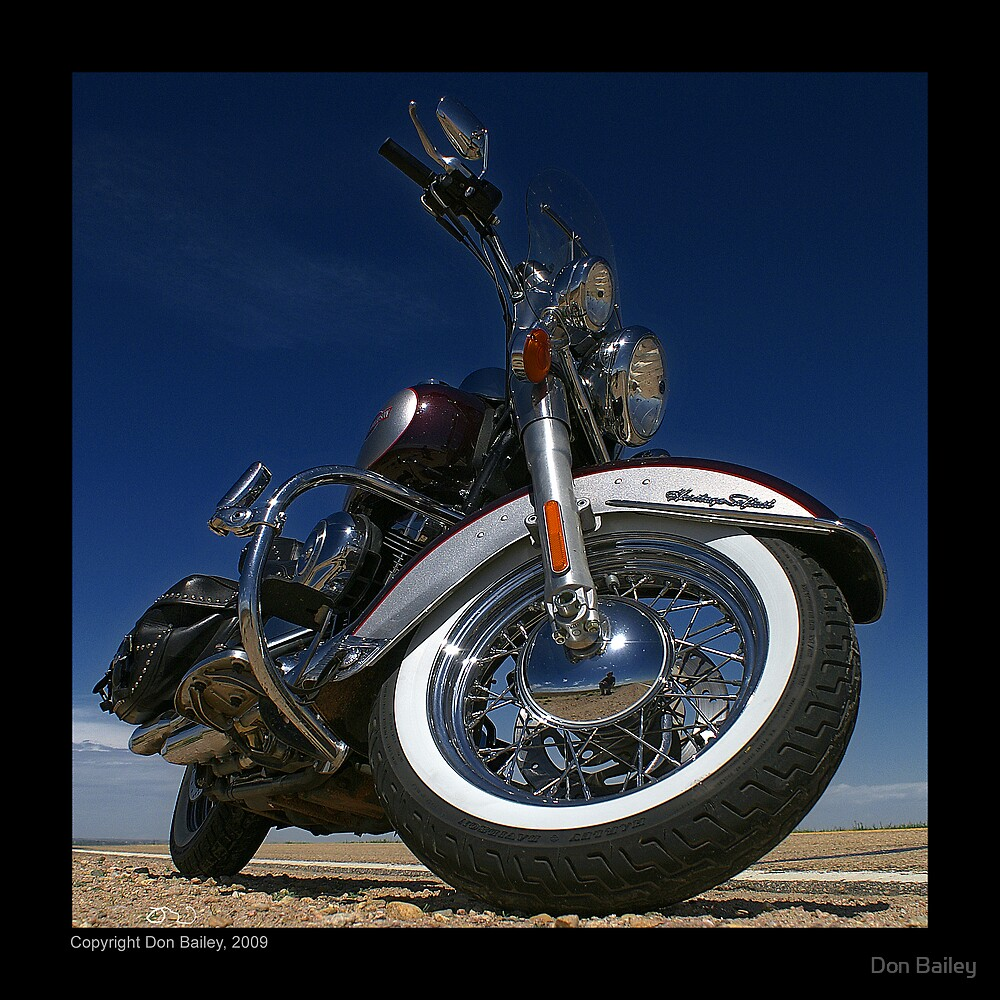 """Harley-Davidson Heritage Softail Classic"" by Don Bailey"