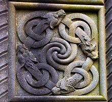 celtic cross detail by imagegrabber
